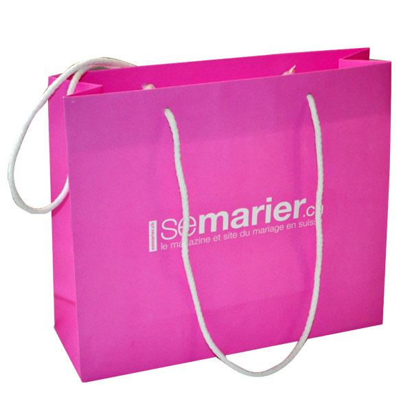 Assez Sac papier luxe,création de packaging personnalisé,sac carton,sac  RX88